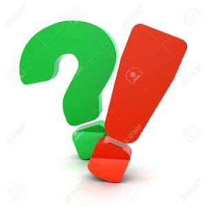 12042311-question-and-exclamation-marks-on-a-white-background-stock-photo
